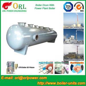 Quality Chemical Industry SGS Mud Drum In Boiler , Custom High Pressure Drum for sale