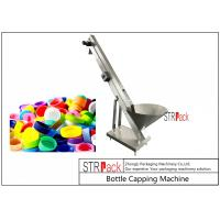Quality Automatic Bulk Cap Elevator / Cap Feeder Machine , Cap Sorter Machine For Capping Machine for sale