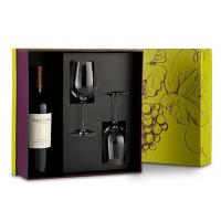 Buy Handmade Flat Pack Wine Packaging Box Cardboard Customized Shape at wholesale prices