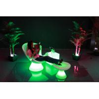 Quality Luxury Outdoor Swimming Pool led Lounge chari /PE chair for sale