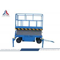Quality Towable Hydraulic Mobile Scissor Lift Table with 8m Platform Height for sale