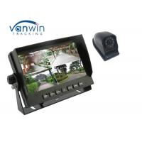 Quality 4CH High Definition 7inch Quad Car Monitor with 4 1080P Cameras for Truck for sale