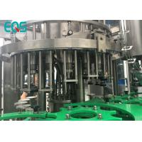 Quality Glass Bottle 4 in 1 Monoblock Pulp Juice Filling Machine With PLC Control for sale