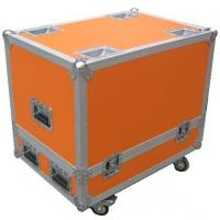 Quality Orange 12U Flight Case Hardware Plastic Cases For DJ Mixer Case for sale