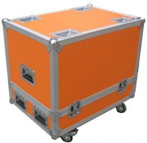 Buy Orange 9mm Wood  Board  Rack Flight Case  For Sound Speaker  Equipment at wholesale prices