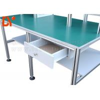 Quality Industrial Workshop Anti Static Workbench , Aluminum Extrusion Workbench OEM for sale