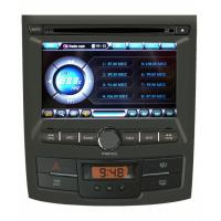 Quality ST-A159 GPS Radio Amplifier 3G, V-CDC steering wheel Ssangyong DVD Player For Ssangyong Korando for sale