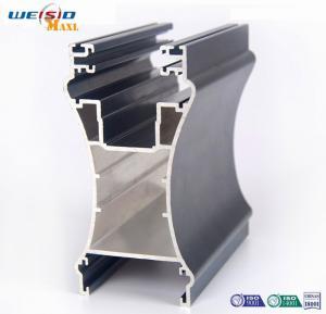 Quality Sliding open style and double glazed Aluminum sliding windows Profile for sale