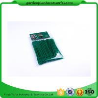 Quality Luster Leaf Twist Garden Plant Ties Strips Green Color ISO 9001 Approved for sale