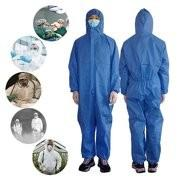 Quality Hospital Disposable Isolation Gown Fluid Resistant Good Physical Properties for sale