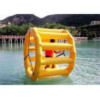 China Durable Inflatable Water Toys Wheel , Water Sports Ball Large Commercial Grade on sale