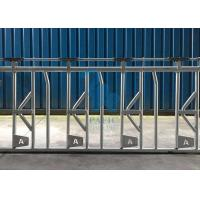 Quality Self Crossing Cattle Feed Barrier Gates , Heavy Duty Fence Line Feeder Panels for sale