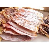 Quality Delicious Healthy Squid Todarodes Pacificus Dried Seafood Whole Round Iso Cettification for sale