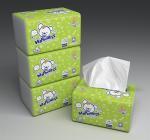 Quality Plastic Bag Facial Tissue Paper for sale