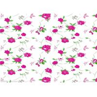 Quality Fashion flower printed paper / sublimation paper roll for textile and garments for sale