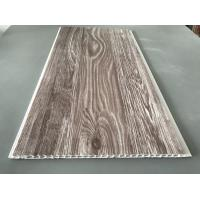 Buy Recyclable Brown PVC Wood Panels Easy Maintenance 2.5kg/Sqm - 3kg/Sqm at wholesale prices