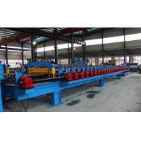 Quality High Speed Roofing Corrugated Sheet Roll Forming Machine 37kw 0 - 35 M / Min for sale