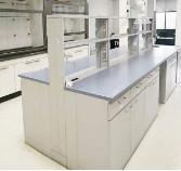 Quality Completed Chemical Laboratory Furniture Lab Casework For New Phenolic Tops for sale