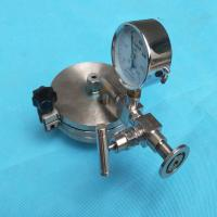 Quality Tube Furnace used Hinged Type Vacuum Sealing Assembly Flange with KF25 Vacuum Port & 1/4 thermocouple Feedthrough for sale