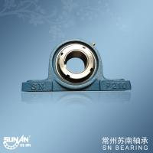 High Precision Chrome Steel Flange Mounted Bearings , Food Bearing UKP210