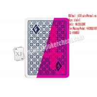 Quality XF Magic Tricks Invisible Modiano Trieste Plastic Playing Cards With Invisible Ink Printing for sale