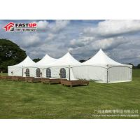 Quality European Style Large Storage Tents For Logo Printing Available Long Life Span for sale