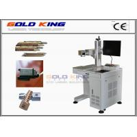 Quality High technological different colour Fiber laser marking machine for stainless steel for sale