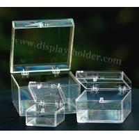 Quality Transparent ACRYLIC CASE for packing jewelry for sale