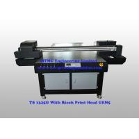 Furniture Flatbed Wood UV Printing Equipment With Ricoh GEN5 Print Head