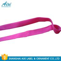 Quality Elastic Webbing Straps Elastic Binding Tape Fold - Over Elastic Tape for sale