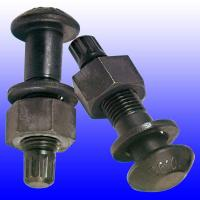 Buy cheap High Precision DIN 933 Carbon Steel Bolts , Hot Dipped Black Zinc Plated Bolts from wholesalers