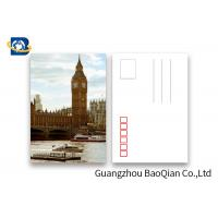 Quality UK Tourist Tttraction 3D Lenticular Postcards 5D Effect Printing Images for sale