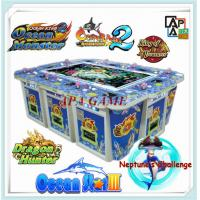 Quality Hot sale 8P/10P Ocean King 3 crab dragon fishing arcade game machine for sale