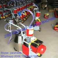 Buy For Pasture,Piston Typed Double Buckets Mobile Milking Machine,small portable at wholesale prices