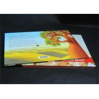 Quality Full Color Glossy Paper Hardcover Book Printing Services , Offset Book Printing for sale
