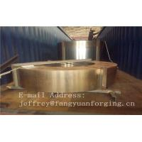 Quality Hot Forged Rolled Rings / Stainless Steel Sleeve DIN Standard 1.4401 for sale