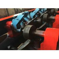 Quality Punching Device U Channel Roll Forming Machine , Galvanized Steel Roll Forming Machine for sale