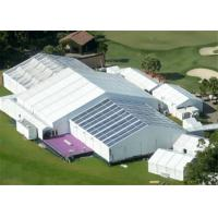 Quality 15m Width Clear Span Aluminum Frame White Used Event Tent With Air Condition System for sale