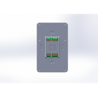 Quality Wall Mount Industrial Controller 5 Inch Android POE Tablet PC with Zigbee Coordinator for sale