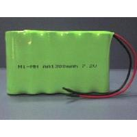 China Rechargeable Battery Pack 7.2V AA, 1300mAh on sale
