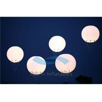 Quality LED Helium Filled Air Balloon Show Large Advertising Inflatables For Promotion for sale