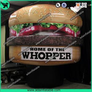 Quality Mcdonald's Hamburger Advertising Inflatable Hamburger Model for sale