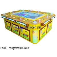 Quality 10 Players Coin Operated Hunter Shooting Fishing Cabinet Gambling Game Machine for sale