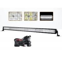 Quality 54 Inch 300 Watt 5D 4x4 Off Road LED Light Bar 30000 Hours Life Span for sale