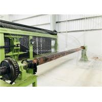 Quality Double Twist Gabion Production Line 2300mm Net Width 22.0kw With High Speed  Boiler Cover for sale