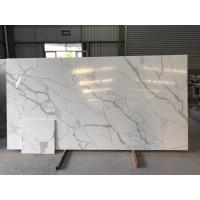 Quality Quartz Solid White Kitchen Countertops for sale