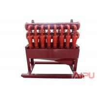Quality 1000HP~4500HP oil rig  solids control hydrocyclone desilter at Aipu solids for sale