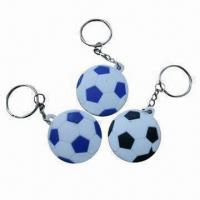 Quality keyring, football shape keyring with various shapes and sizes are available,your designs available for sale
