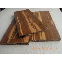 Quality Tigerwood Strand Woven Bamboo Flooring, T&G for sale
