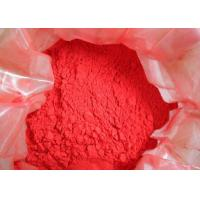 Quality Better Weatherability Coating Additives Red Powder Fe2O3 For Dyeing Construction Materials for sale